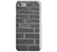 B/W bricks iPhone Case/Skin