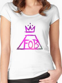 FOB Women's Fitted Scoop T-Shirt