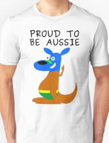 Proud to be Aussie Unisex T-Shirt