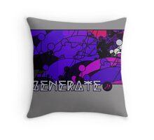 Generate_cloud Throw Pillow