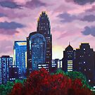'CHARLOTTE SUNSET'  by Jerry Kirk