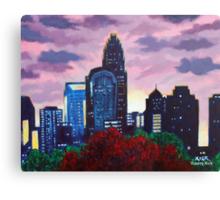 'CHARLOTTE SUNSET'  Canvas Print