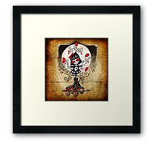 HannaH©-poppies Framed Print