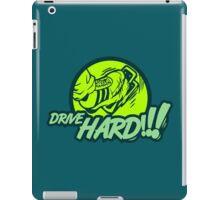 Drive HARD!!! (4) iPad Case/Skin