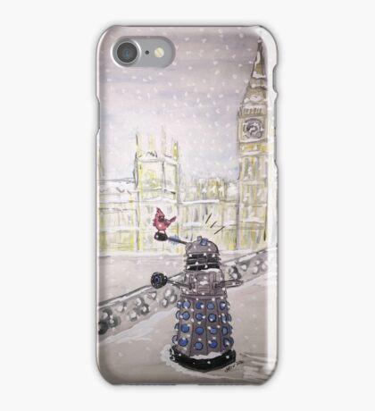 Winter Dalek iPhone Case/Skin