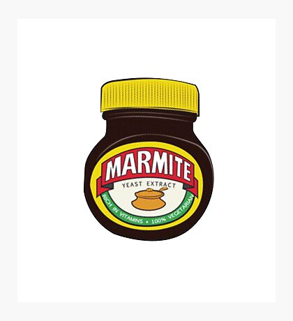 Marmite - Love it or Hate it Photographic Print
