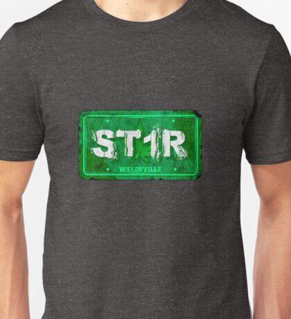 ST1R - License plate Unisex T-Shirt