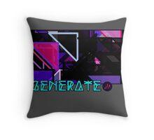 Generate_Pop Throw Pillow