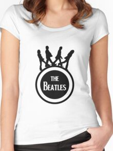 beatles Women's Fitted Scoop T-Shirt