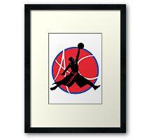 Ac Jump Framed Print