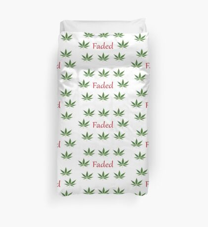 faded pattern Duvet Cover