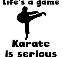 Karate Is Serious by kwg2200