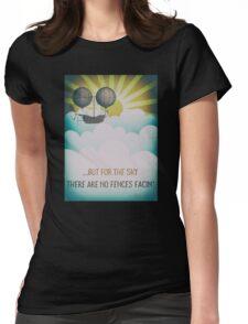 Bob Dylan Fantasy Graphic Music Lyrics Design  Womens Fitted T-Shirt