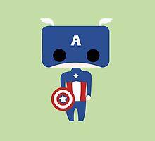 Captain America by Tardisly