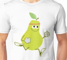 Awesome Running Pear Unisex T-Shirt