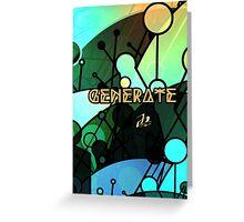 Generate_invert Greeting Card