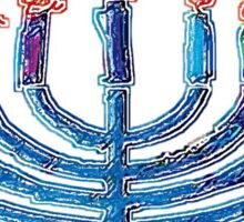 Happy Hanukkah 1 Sticker