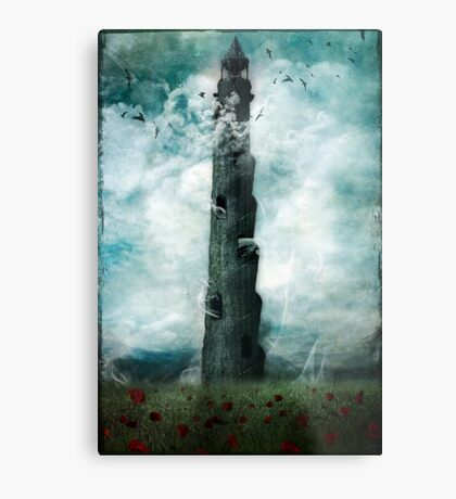 The Dark Tower Metal Print