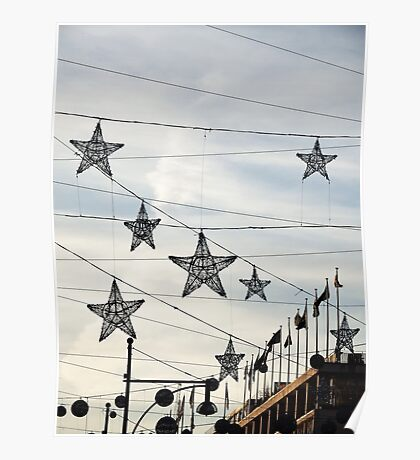 Stars On Oxford Street Poster