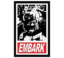Embark, Pilot Photographic Print