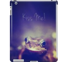 Kiss Me iPad Case/Skin