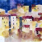 Pitigliano, a beautiful village in Tuscany by Alessandro Andreuccetti