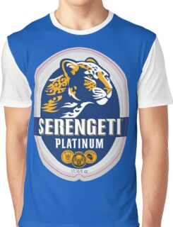 SERENGETI LAGER BEER Graphic T-Shirt
