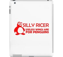 Silly Ricer (2) iPad Case/Skin