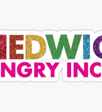 Hedwig and the Angry Inch Pride - glitter Sticker