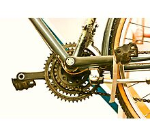 Bicycle Gears Photographic Print