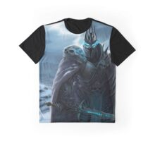 The Lich King in Northrend Graphic T-Shirt