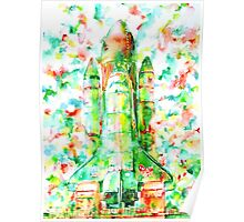 SPACE SHUTTLE - LAUNCH POD Poster