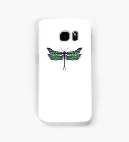 Dragonfly - Dark Colours Samsung Galaxy Case/Skin