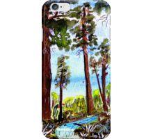 Redwoods iPhone Case/Skin