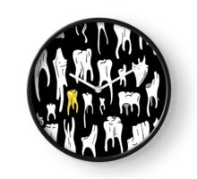 Tooth or Dare, Bold Illustration Clock