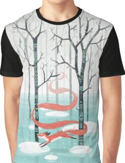 Forest Fox Graphic T-Shirt