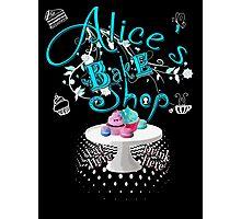 Alice's Bake Shop Photographic Print