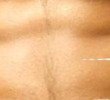 Fitness abs through shirt Sticker