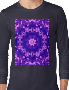 kaleidoscope Flower G186 Long Sleeve T-Shirt