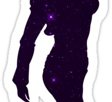 Motoko Kusanagi Space Anime Manga Shirt Sticker