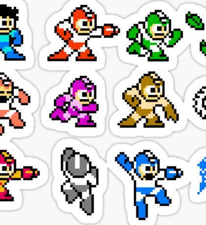 MegaMan Rainbow Sticker