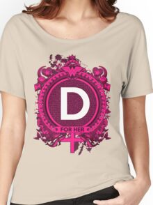 FOR HER - D Women's Relaxed Fit T-Shirt