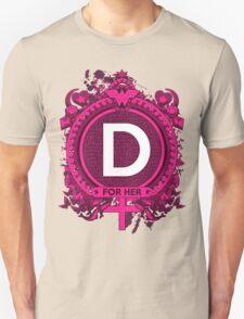 FOR HER - D Unisex T-Shirt