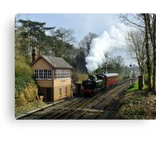 Bewdley Auto Canvas Print