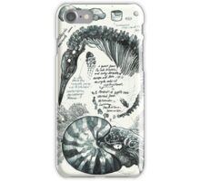 Fossil Sketchpages #1 iPhone Case/Skin
