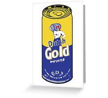 Dutch Gold  Greeting Card