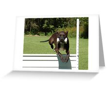 Up and Over Greeting Card