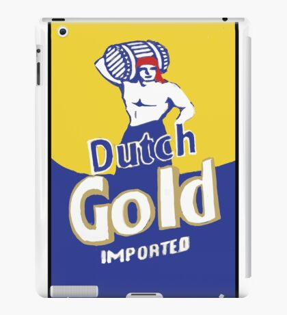 Dutch Gold  iPad Case/Skin