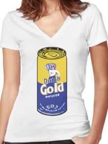 Dutch Gold  Women's Fitted V-Neck T-Shirt