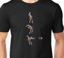 Chun Li Fireball Vertical Direct Shot Unisex T-Shirt